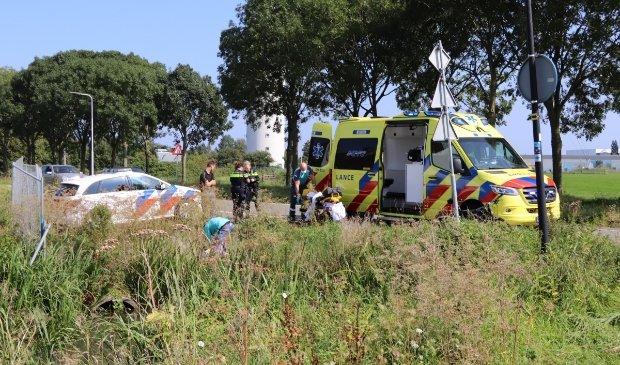 Wielrenner gewond bij aanrijding met auto op Hogebiezendijk #ijsselstein
