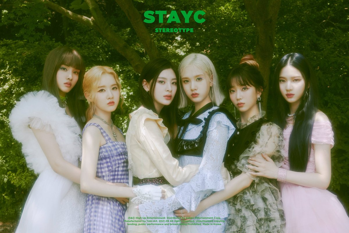 """STAYC Charts on Twitter: """".@STAYC_official 'STEREOTYPE' earns the highest  first day album sales by a 2020~2021 female rookie on Hanteo (14,708 copies  and still counting)! #STAYC #스테이씨… https://t.co/QOpLd6PyMZ"""""""