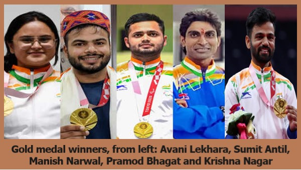 Paralympians Make India Proud With 19 Medals. Record haul as national flag hoisted multiple times in Tokyo. bit.ly/3DNA4jr @NBCOlympics @Tokyo2020 @Tokyo2020jp @IndianEmbTokyo @Tokyo_gov @Olympics @ParalympicIndia @narendramodi @PMOIndia @ianuragthakur @KirenRijiju