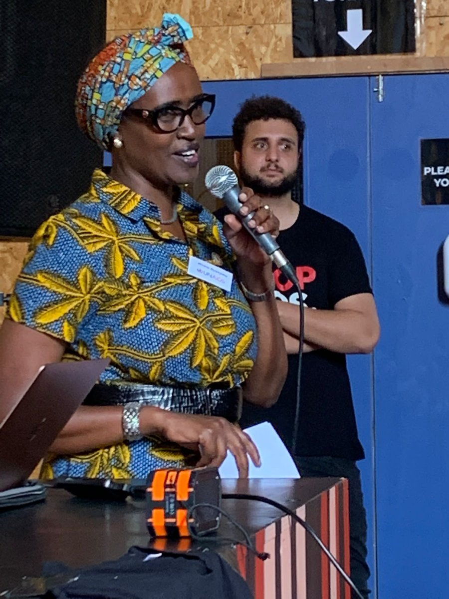 A powerful introduction from @Winnie_Byanyima recognising the power of civil society and our power and responsibilities in the global fight against HIV. #EndInequalitiesEndAIDS. #0by30
