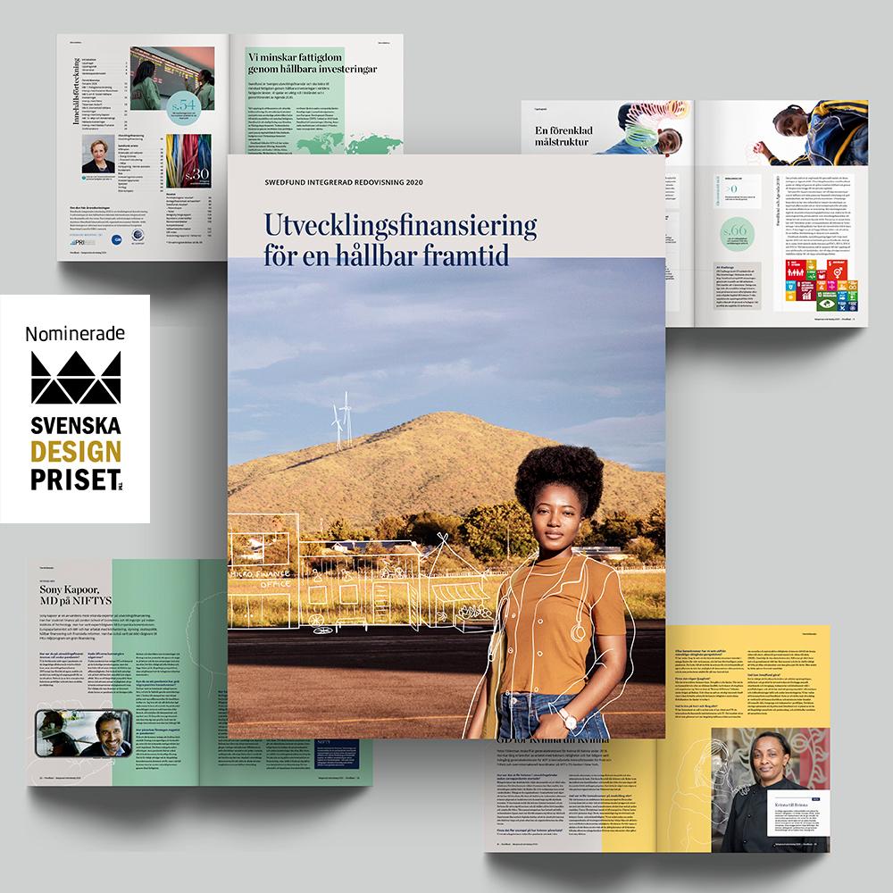 Vi behöver din hjälp! Vår Integrerade redovisning 2020 har blivit nominerad till #SvenskaDesignpriset! Röstningen för vår kategori Information - Årsredovisning – print är öppen denna vecka, https://t.co/qoN4fR5hiG Hjälp oss att sprida och rösta!  https://t.co/MYA4ajNfCi https://t.co/sJOUP2FuGG