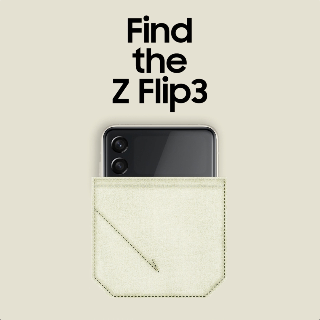 Two-toned hues that fit any style, and in any pocket. #GalaxyZFlip3 Learn more: https://t.co/rFk70ez5Q7 https://t.co/mo5IC0WTgs