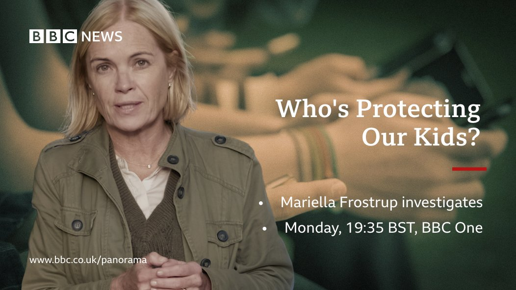 Tonight on #BBCPanorama: Who's Protecting Our Kids? Reports of children sexually abusing other children doubled in the two years to 2019 @mariellaf1 investigates what could be behind the rise and what more can be done to stop it 7:35pm, @BBCOne bbc.in/3n7pP3i