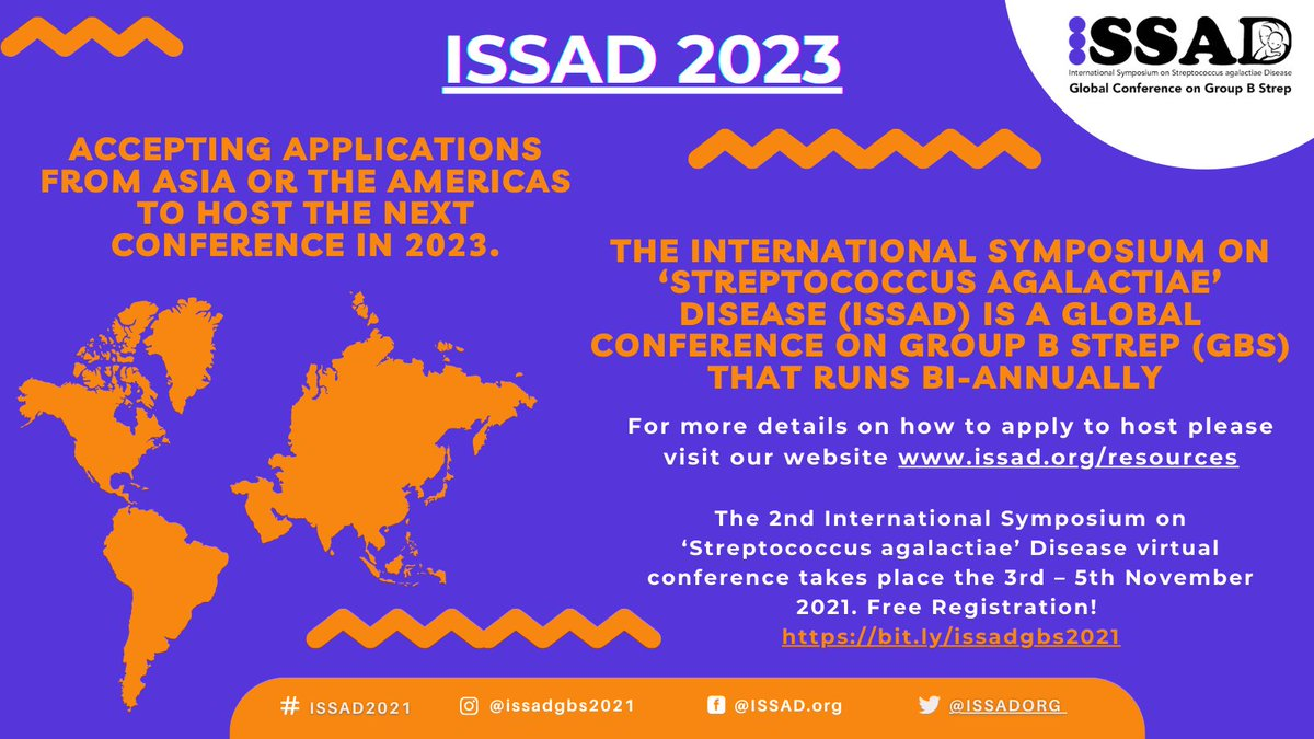 ⏰ A week to go for applications to host the 3rd ISSAD conference in 2023 from @IssadOrg 👉https://t.co/Raw8sgJo2Y @StephenBentley5 @kirstyledoare @LabPinto @GBSTeam_Uganda @LFounou @rnzadoks @ShabirMadh @KLRavikumar @Laurabonofiglio @NIHR_MPRU