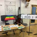 Come and see us at the co-curricular  fair at lunchtime. There's something for everyone. Choirs, bands, song writing workshop, orchestras, percussion groups, ukulele and more… #candomusic @SurbitonHigh @SHSMusicDpt @CSBWRAY @PrincipalSHS @United_Music1