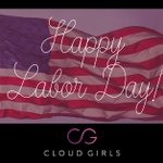 Image for the Tweet beginning: Have a fantastic #LaborDay Cloud