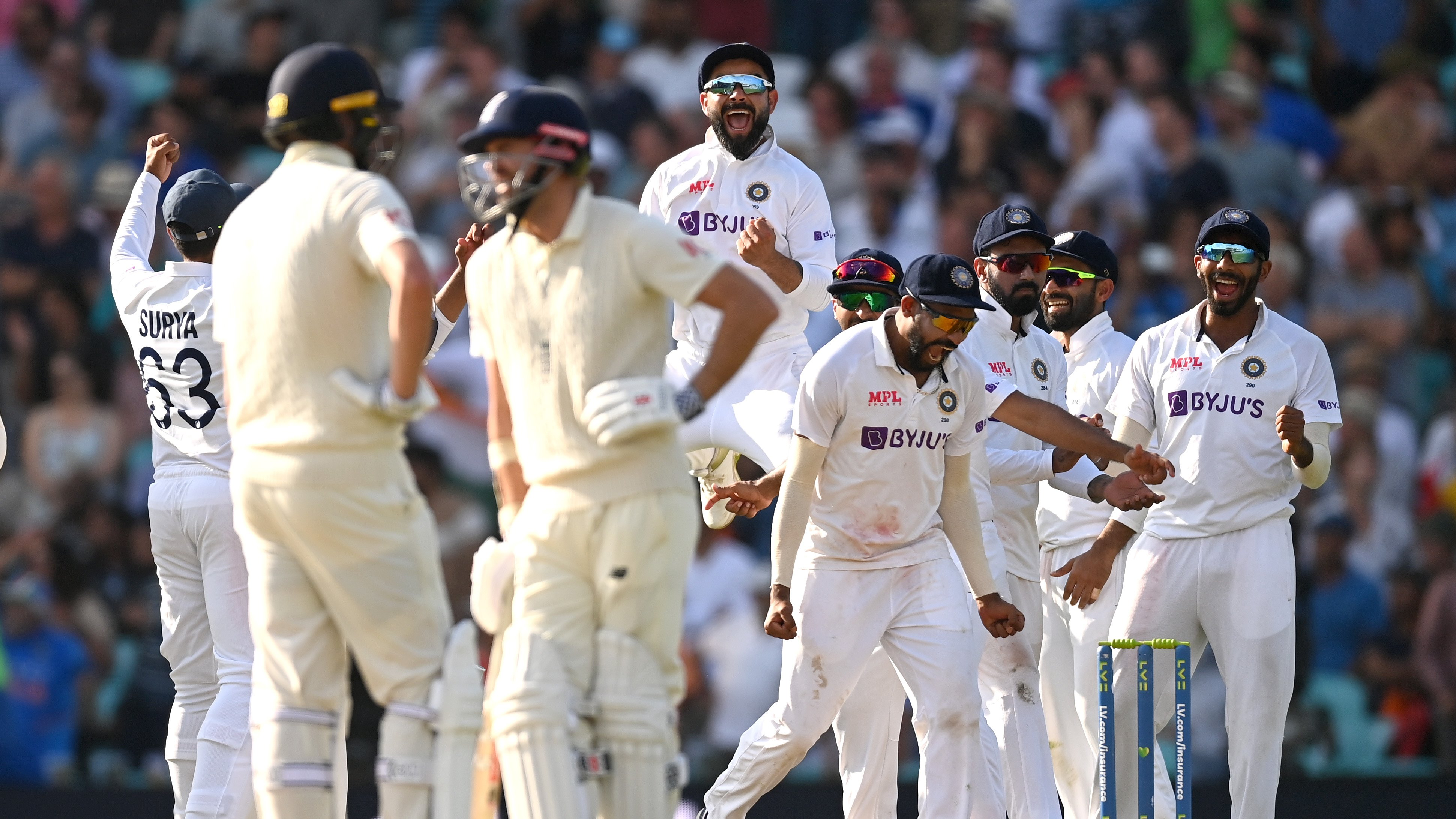 IND vs ENG: India's winning moment at Oval