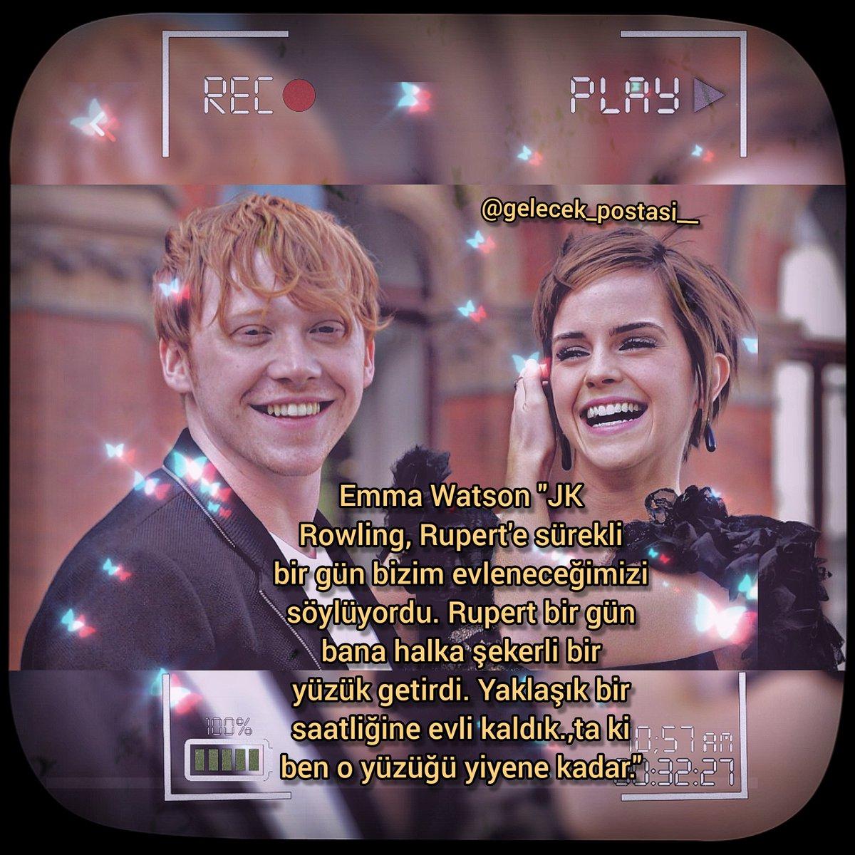 Emma - Rupert mi? Hermione - Ron mu ❓❔