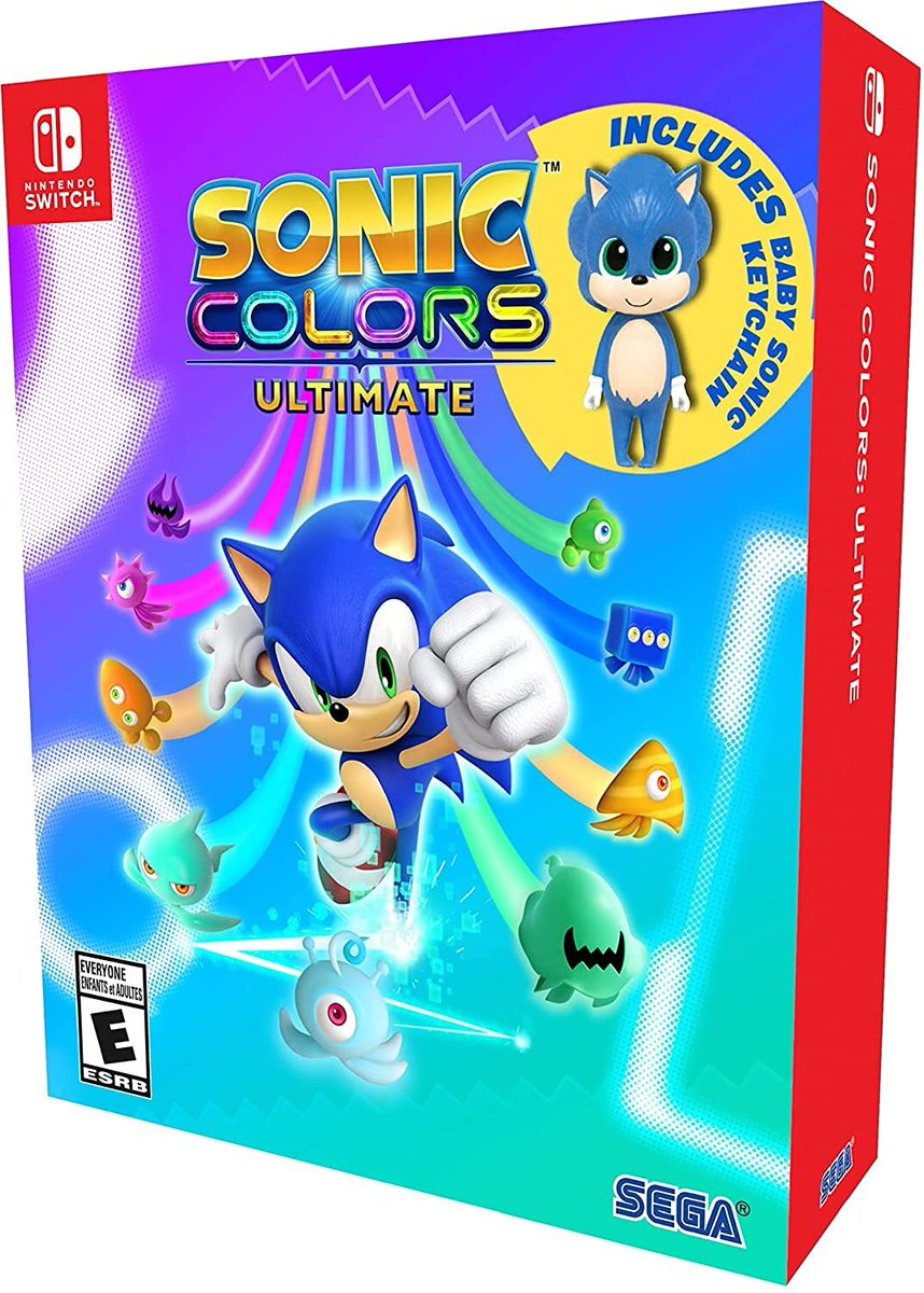 Sonic Colors: Ultimate - Launch Edition for Switch is down to $33.88 on Amazon. ()