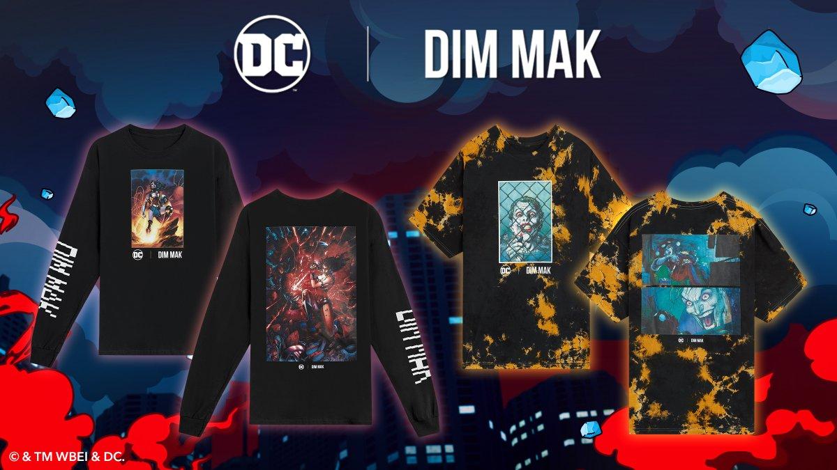 🔥 DC x @dimmak 🔥 New Drop Alert featuring the incredible art of @JimLee: bit.ly/3h1E5qC @dmcollection @steveaoki #DCFanDome