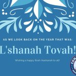 Image for the Tweet beginning: Shanah Tovah to all celebrating