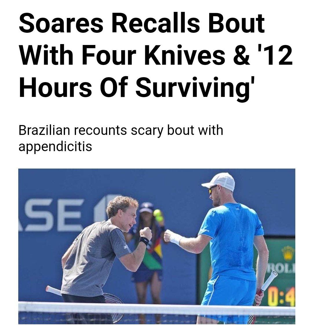 Bruno para a ATP sobre o Apendicite Day™️ 📰 atptour.com/en/news/soares…