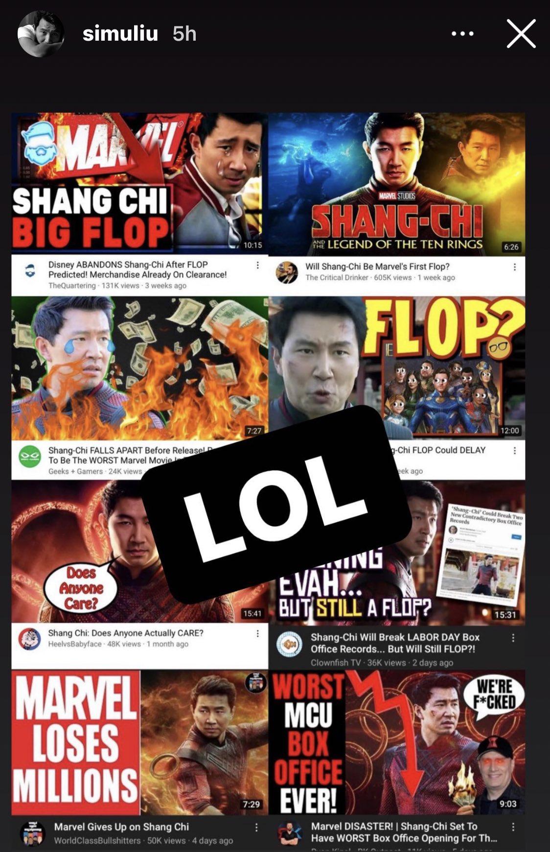 Simu Liu 'Shang-Chi and the Legend of the Ten Rings
