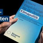 Image for the Tweet beginning: Das Bürgergutachten von @BuergerratKlima ist