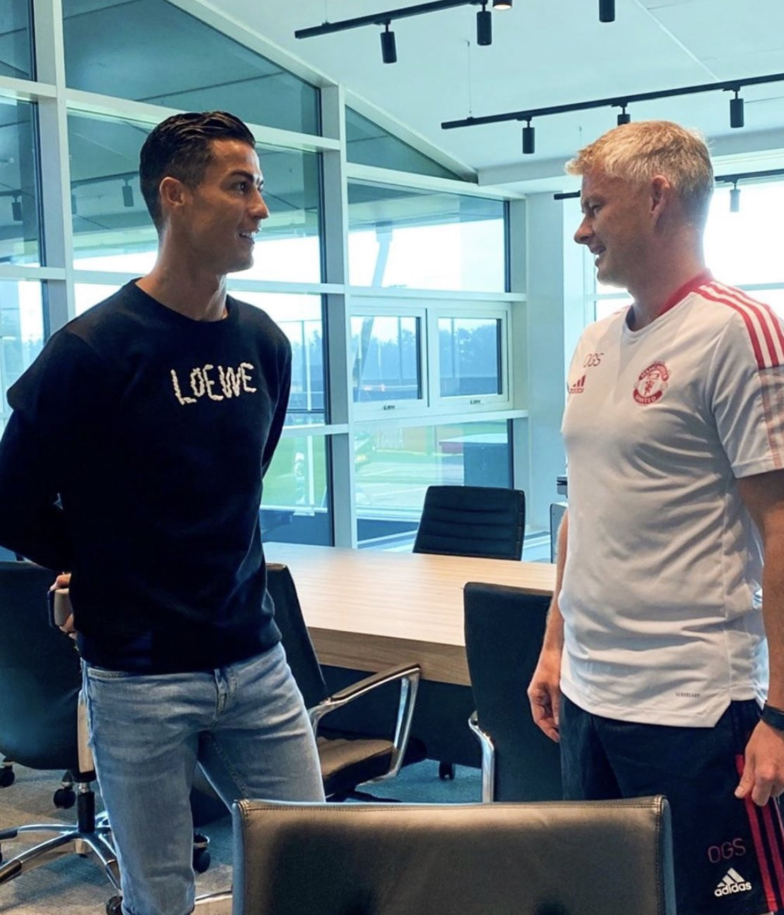 Premier League: Cristiano Ronaldo trains with Manchester United at Carrington, final fees revealed between Juventus and Man United