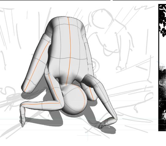 3Dモデルの使い方w頼むから早く土下座のポーズになってくれ!