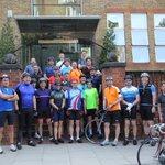 Image for the Tweet beginning: The Hall Triathlon Team &