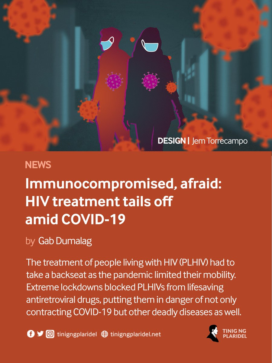The government's inoperative pandemic response has led many Filipinos anxious as they are steered to an uncertain future. But for a mother and her two kids, all living with HIV, the effects of the government's failures are exponential.  #HIVAIDS2021  #EndInequalitiesEndAIDS