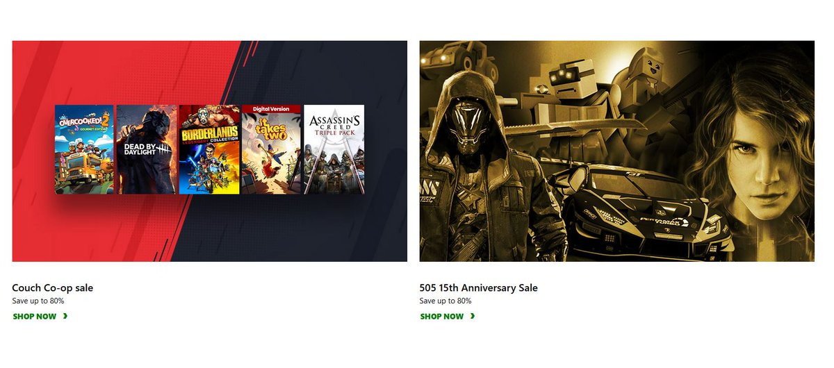 Couch Co-Op & 505 Games Publisher Sale via Xbox.
