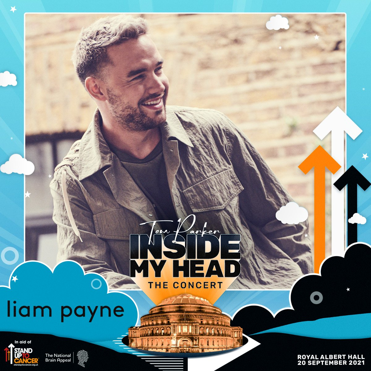 I'm so honoured to be joining @TomParker's Inside My Head@RoyalAlbertHall show in support of@SU2CUK and@BrainAppeal 🙌🏼 It means the world that I can support Tom and his fundraising efforts by performing at the show, I can't wait. See you on Sept 20th! https://t.co/9mrXK62gCN https://t.co/zXalycZjf0