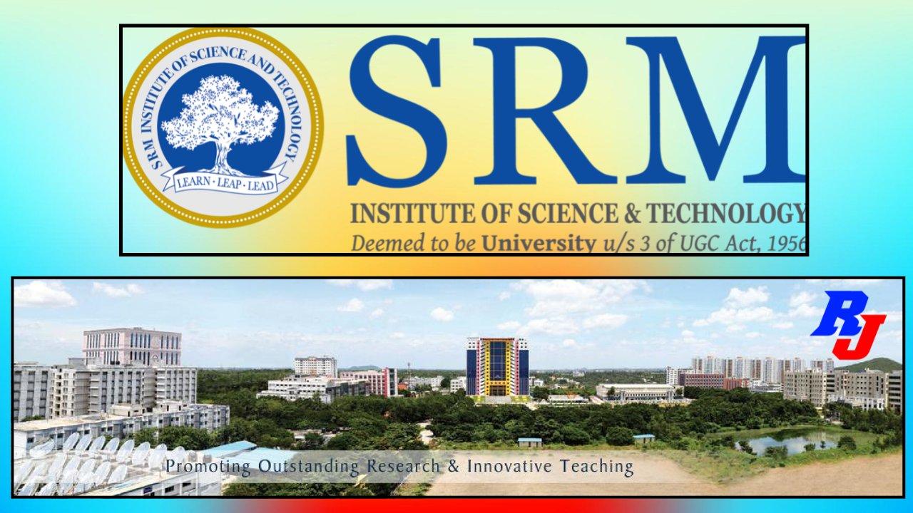 Post Doctoral Fellow (PDF) in SRM University, Kattankulathur Campus, Tamil Nadu, India
