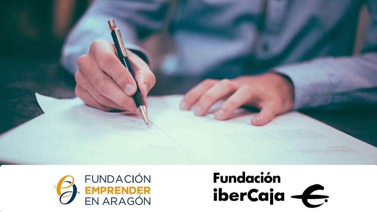 CONVENIO 📝   Fundación Ibercaja @IbercajaSocial y Fundación @AragonEmprende renuevan un año más su colaboración para impulsar a los emprendedores y su actividad en Aragón.   📲 Más información en: https://t.co/61EYwlLxmA https://t.co/cSVcHae74p