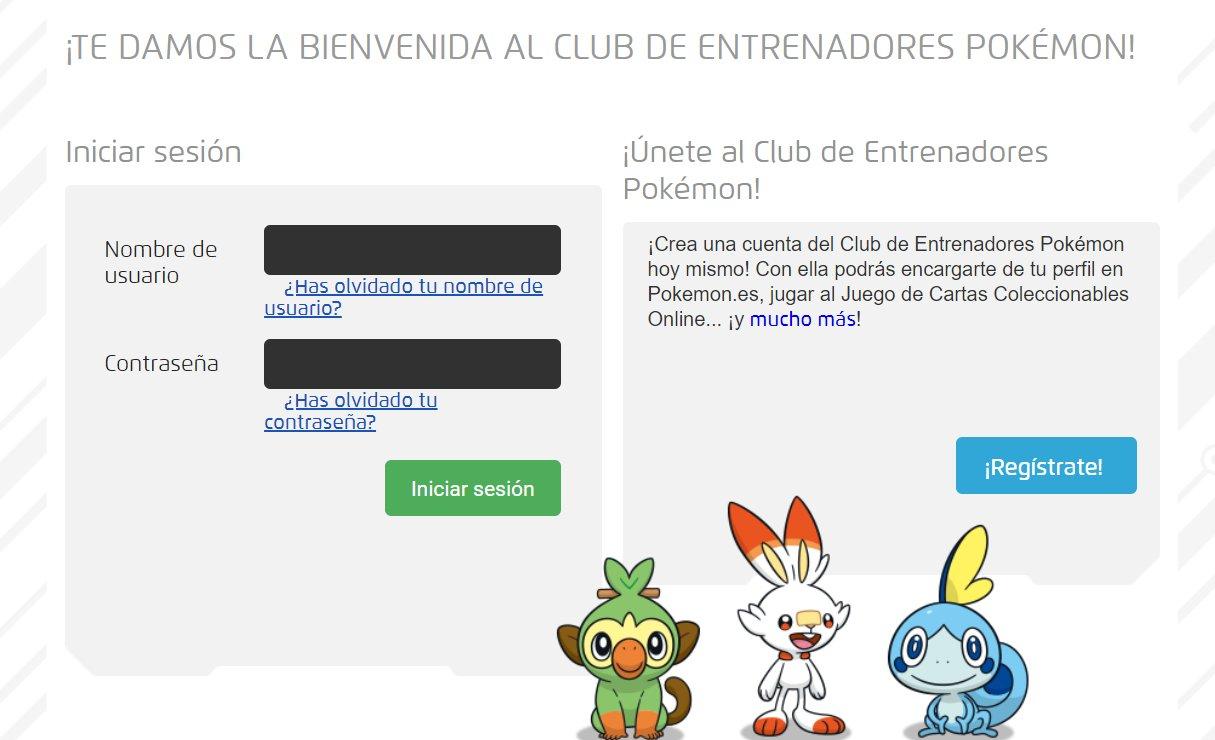 Pokémon Club de Entrenadores