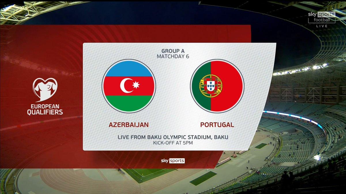 Full match: Azerbaijan vs Portugal
