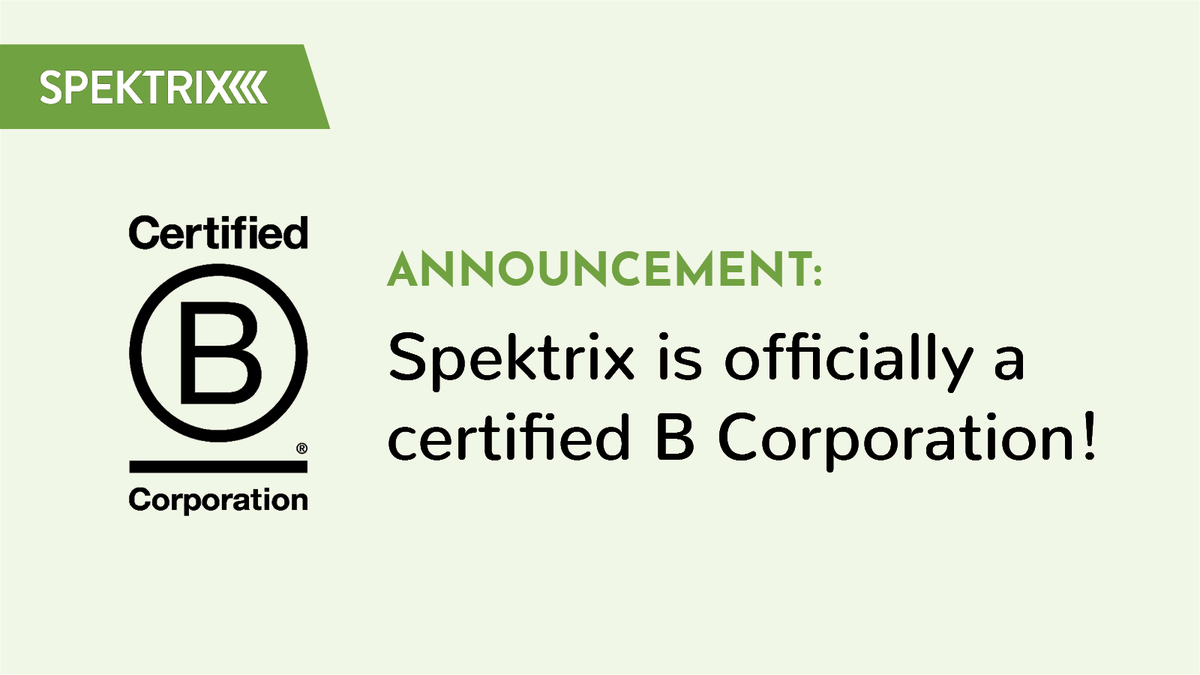 Spektrix is committed to supporting the cultural sector and its audiences. It's our firm intention to make social change and ethical practice ever more central to our work. Find out more: bit.ly/3n9hLir #BCorpUK #ReinventingBusiness #BTheChange @BCorpUK