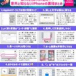 iPhoneユーザーさん必見!覚えておくと便利そうな、iPhoneの便利機能たち!