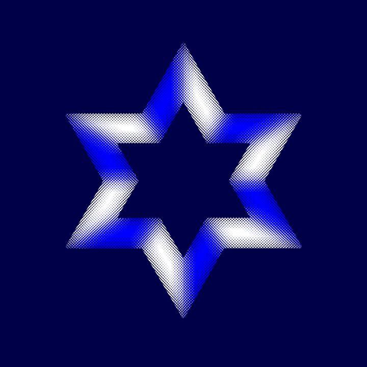 Featured Art of the Day: 'Jewish Star of David'. Buy it at: ArtPal.com/elygoldart?i=9…