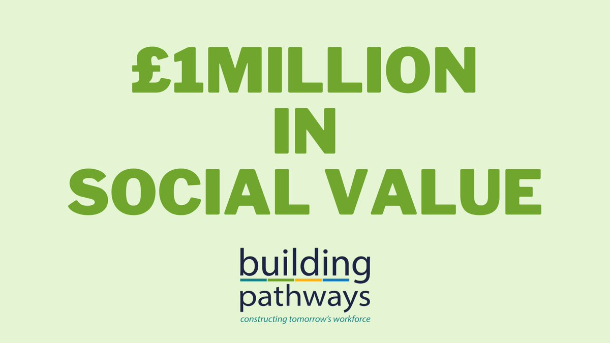 We have reached a major milestone with the social value we've delivered since July 2019, which has now passed the £1m mark! Measuring social value gives us great insight into the positive impact we're having on society. Do you know your social value? https://t.co/QMybGnHO1D