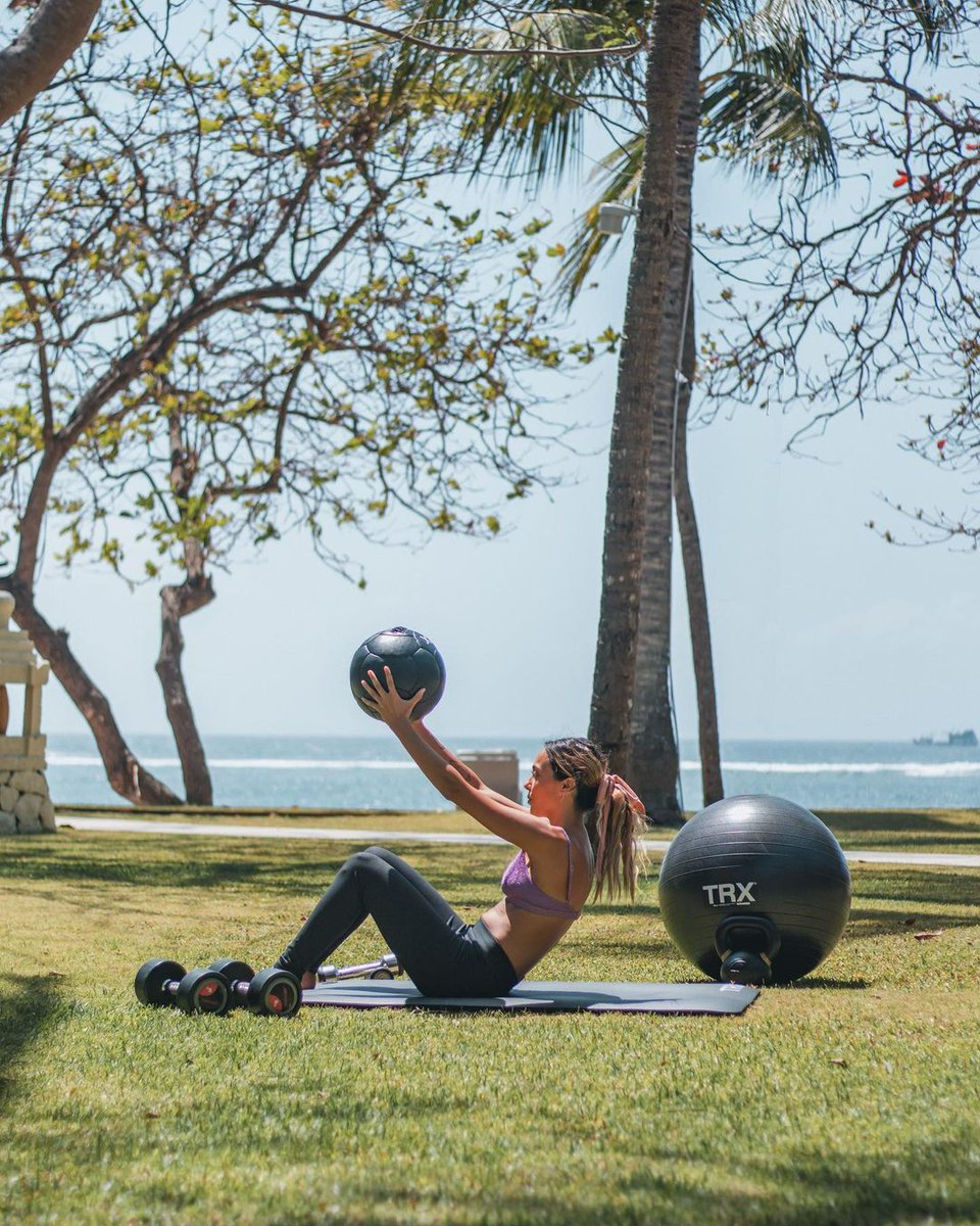 Your morning workout isn't complete without ocean views. #MoveWell 📍 The Westin Resort Nusa Dua, Bali