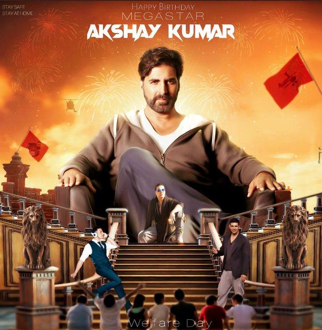 Happy birthday Akshay Kumar sir aap jio unlimited sal