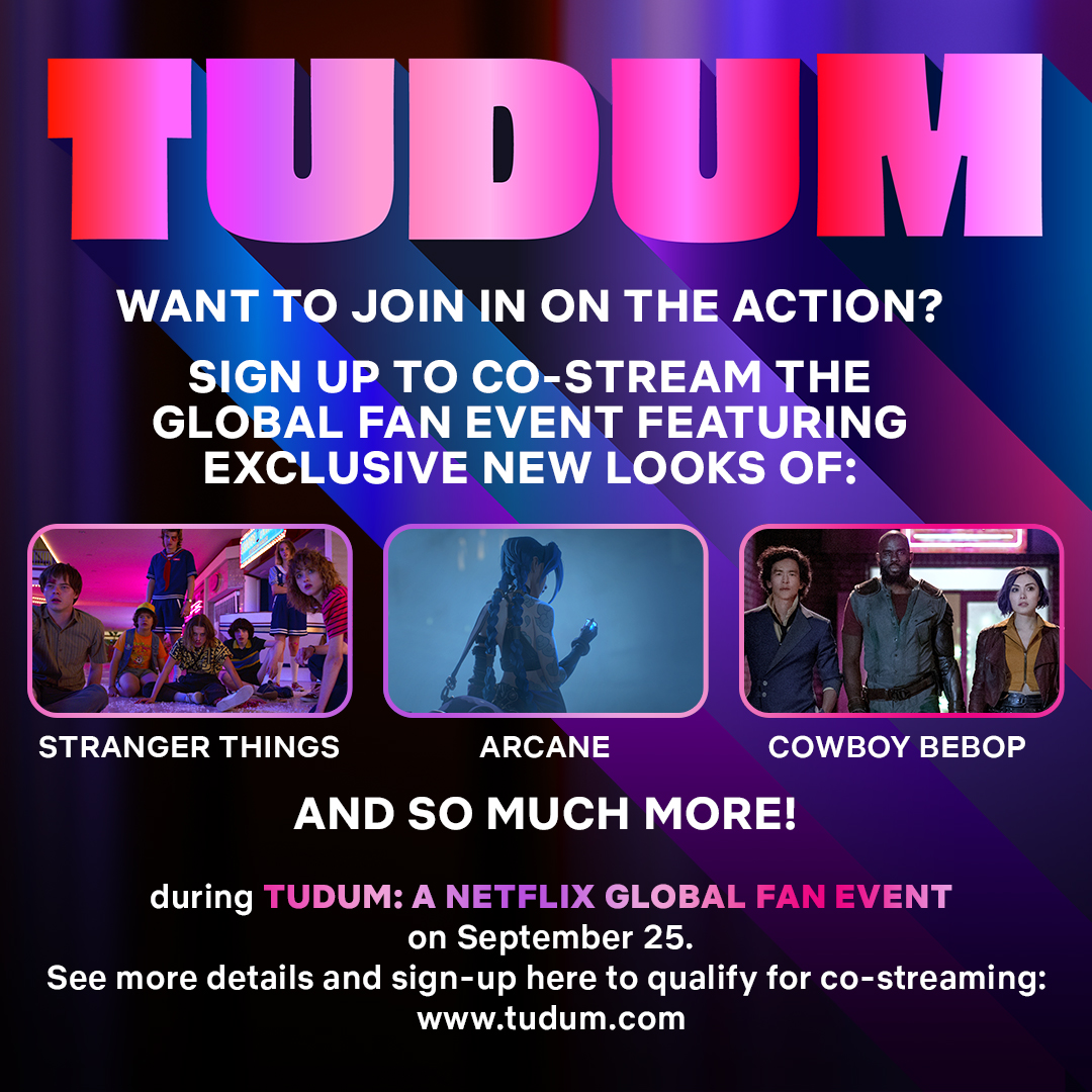 Co-stream invitation for a global event   Cowboy Bepop