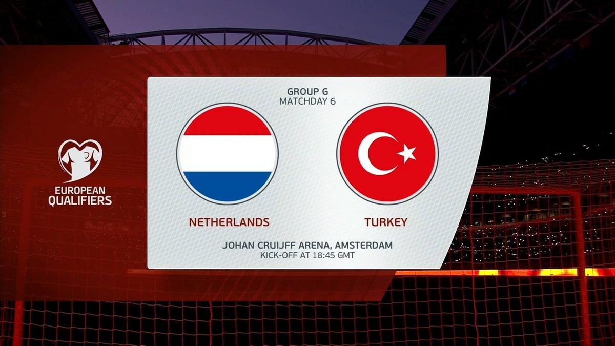 Full match: Netherlands vs Turkey