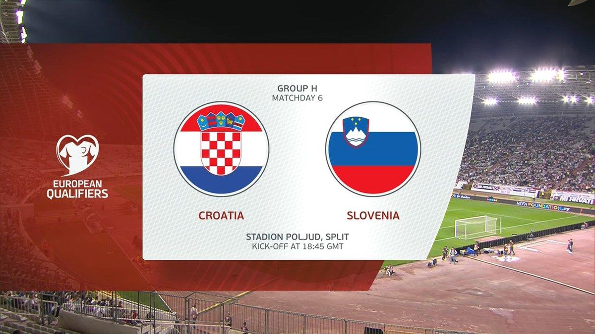 Full match: Croatia vs Slovenia