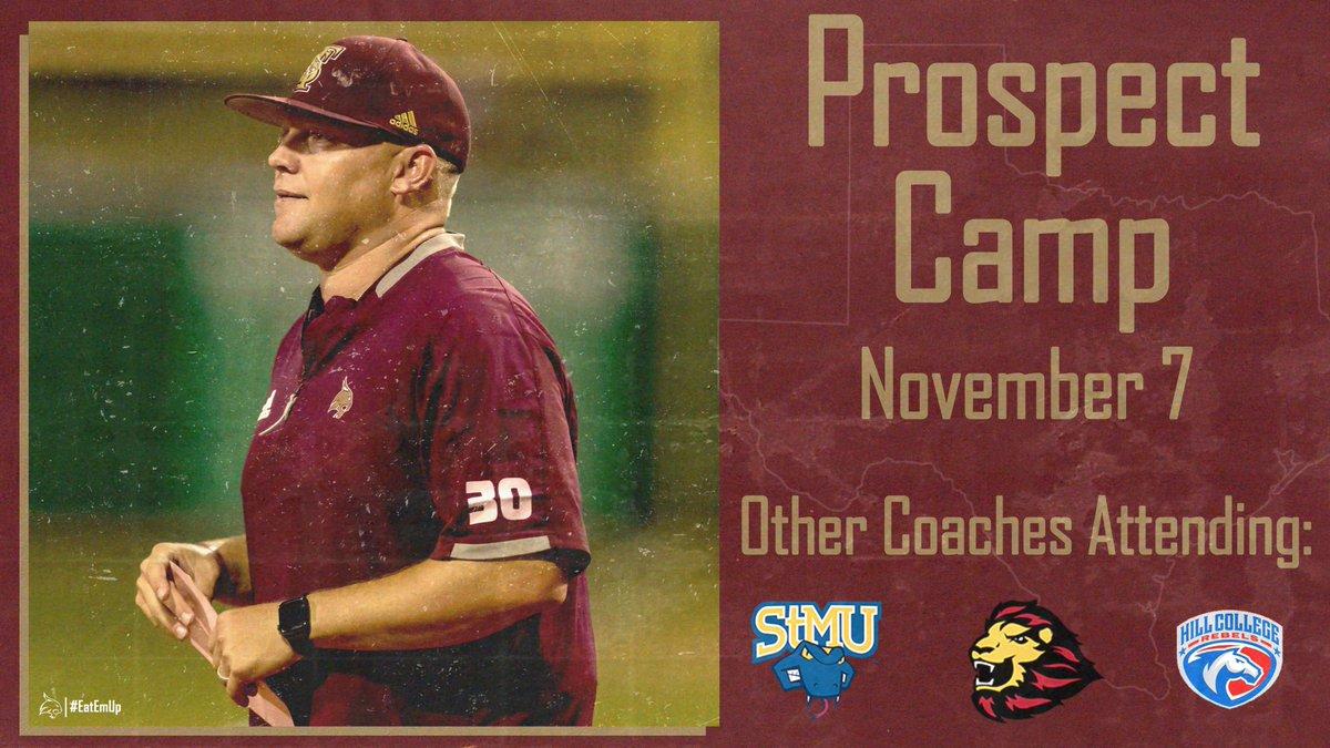 Next Prospect Camp takes place Nov. 7 at Bobcat Ballpark. 🔗: bit.ly/3b0jbVQ