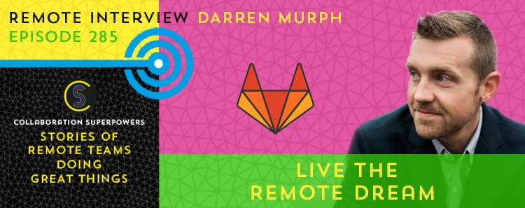 Tune in to my latest interview with @darrenmurph where we talk about how GitLab works as the world's largest all remote company, what the Head of Remote position entails, and what companies are getting wrong – and right – about hybrid working. ed.gr/dmlhq