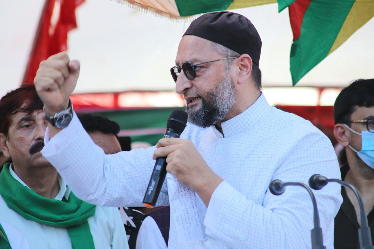 Owaisi Launches Campaign in UP, says 'Muslims Cheated in Name of Secularism'