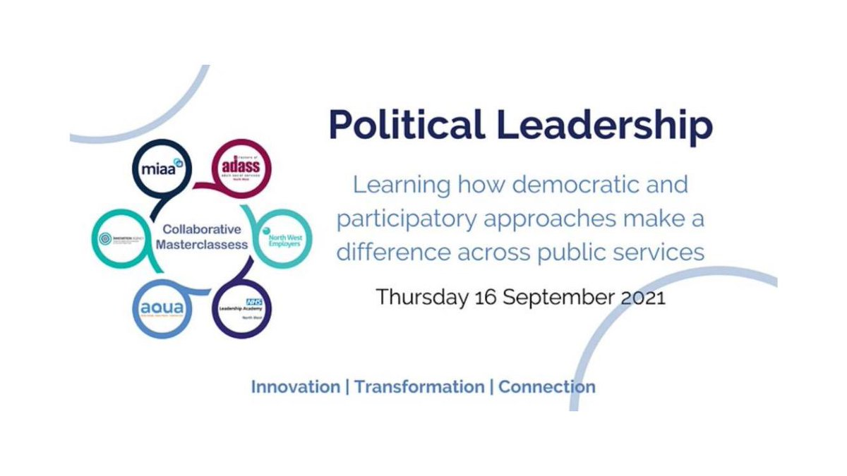 test Twitter Media - What does good political leadership look like? Join #NWCollaborative on 16 September to explore this together and look at the skills needed to work effectively in this arena  https://t.co/hKwSPL4sLa #innovation #transformation https://t.co/gb5Kdcznn0