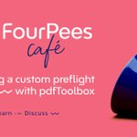 Image for the Tweet beginning: In this Four Pees Café,