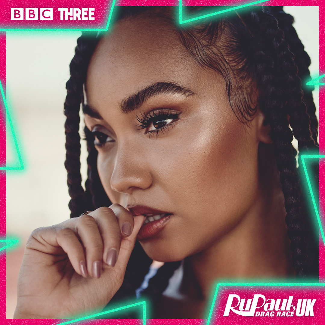 Leigh-Anne Pinnock from @LittleMix will be serving sweet melody realness down the #DragRaceUK runway. https://t.co/w0Dru5xAob