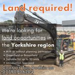 We're always looking for land opportunities in the Yorkshire region to develop Torsion Homes to build our company from strength to strength.If you know of any available land, please contact Tim Dodkin with the info below.#landopportunity #yorkshireland #developmentopportunity