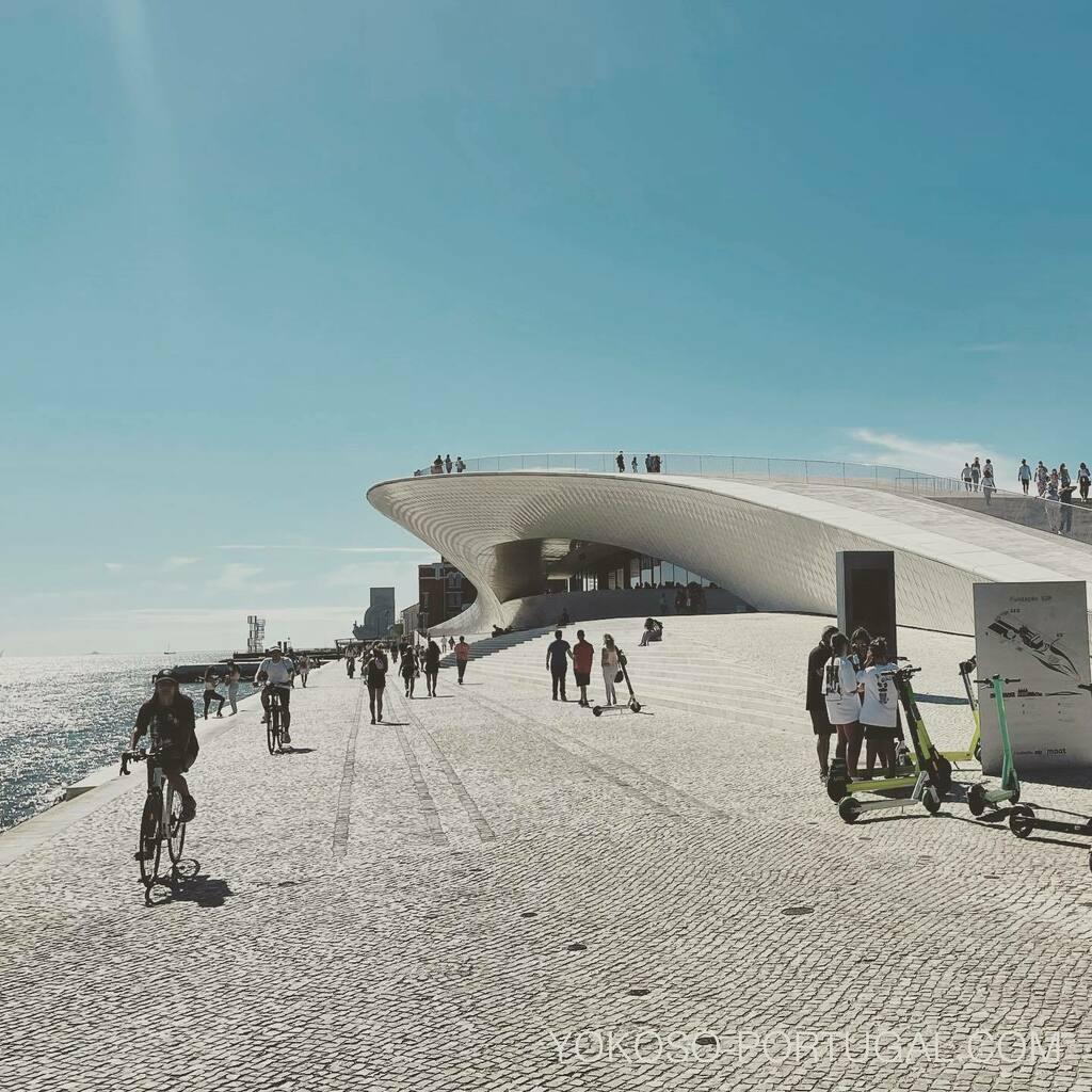 test ツイッターメディア - リスボン市街地から世界遺産のベレン地区までは7km、路面電車、バス、電車で行けますが、テージョ川沿いをレンタル自転車や電動スクーターもおすすめです。 #リスボン #ポルトガル https://t.co/ivtiPfBbfh