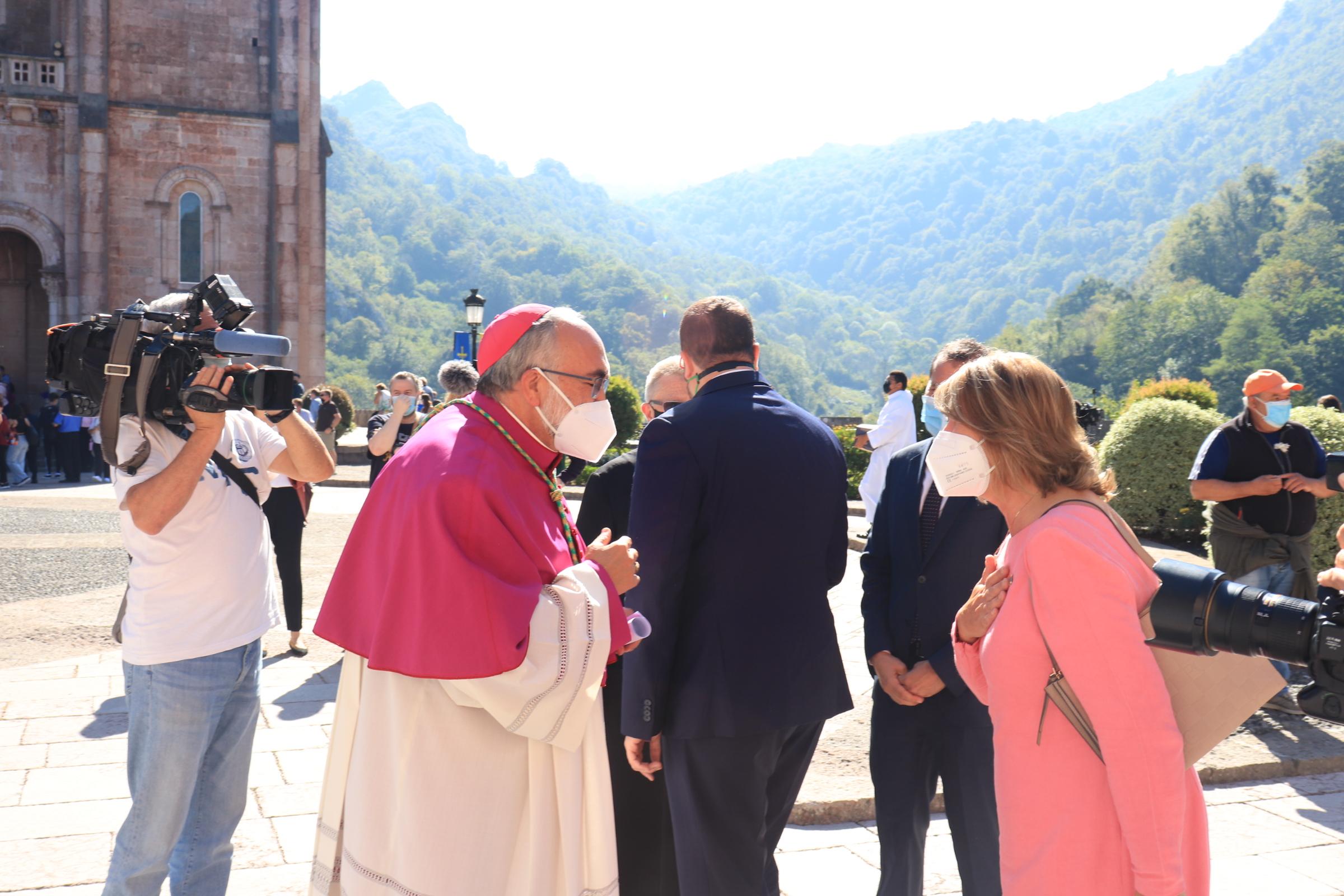 Sanz, en Covadonga