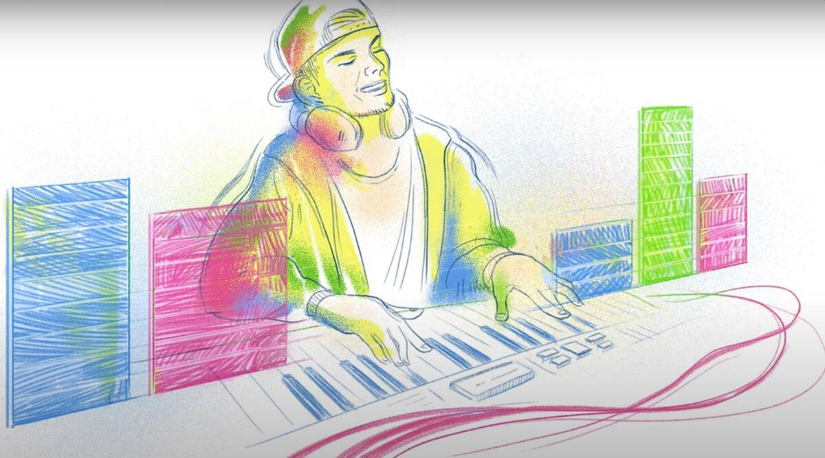 On Tim Bergling's 32nd birthday, Google honors him with a doodle