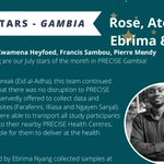 Image for the Tweet beginning: Rose, Ato, Ebrima, Francis, and
