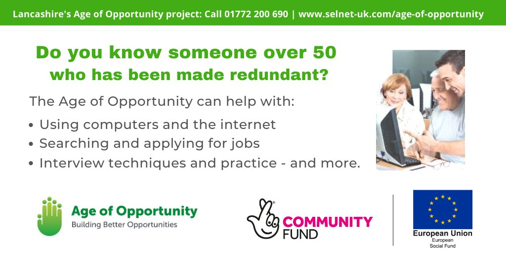 Great support being offered by Selnet and partners #upskillingLancashire
