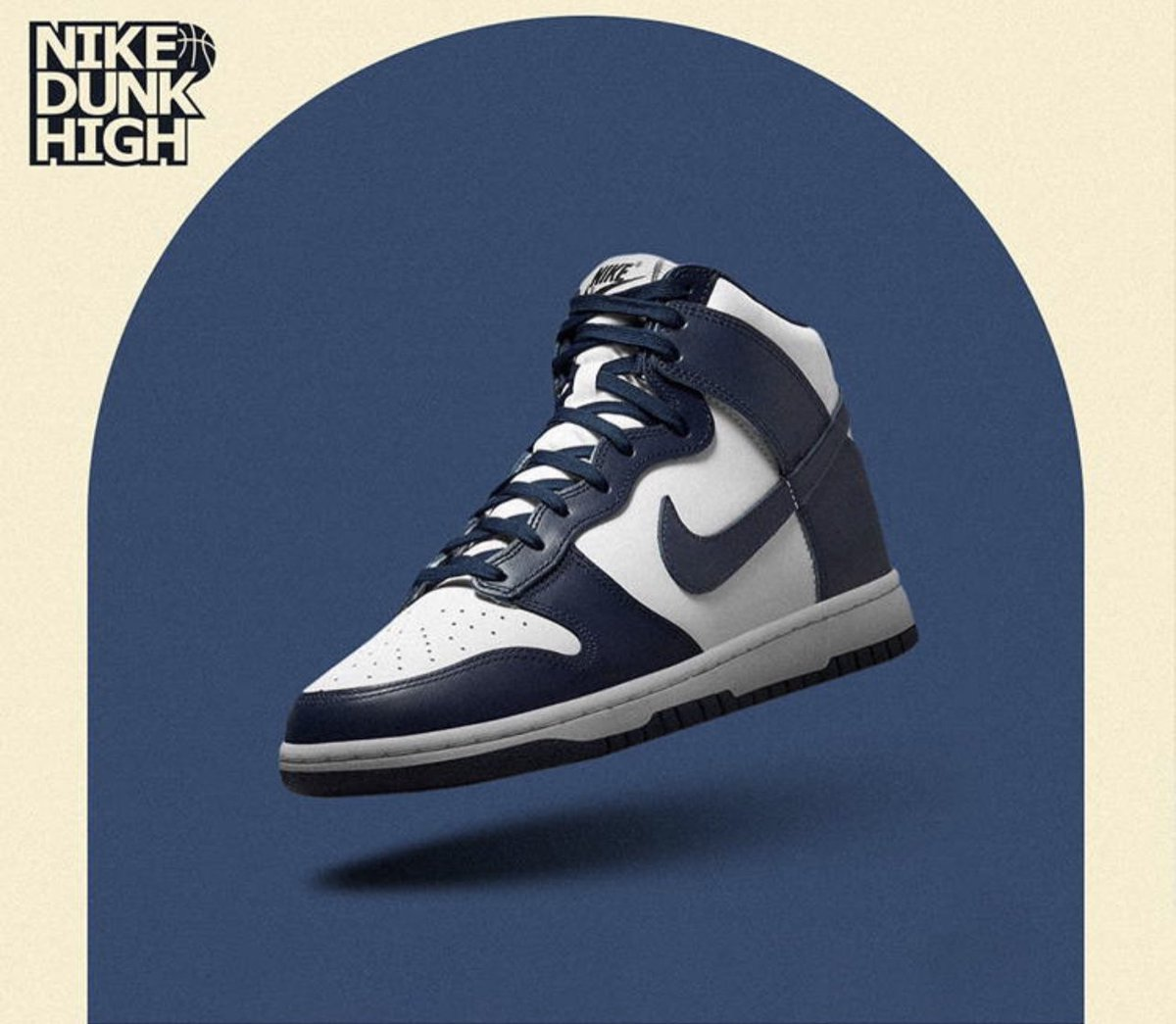RESTOCK Nike Dunk High 'Midnight Navy'  FNL: JD: